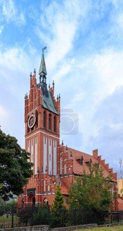 Photo pour Russie, Kaliningrad - 22 septembre 2018: Kirche de la sainte famille. Construit en 1907. Philharmonie régionale de Kaliningrad. - image libre de droit