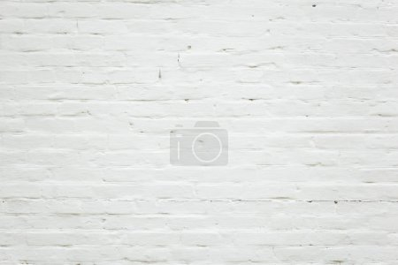 Photo for White brick wall background and texture - Royalty Free Image