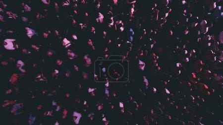 Foto de Vista aérea de una multitud de personas. Festival nocturno . - Imagen libre de derechos