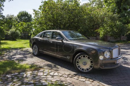 BERLIN AUGUST 17 2014 Bentley