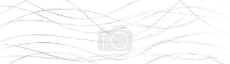 Photo pour Abstract background of wavy intertwining lines, gray on white - image libre de droit