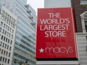 NEW YORK, NY  MAY 16, 2018- Historic Macys flagship retail store in Herald Square location of New York. This is one of the largest department stores in the world.