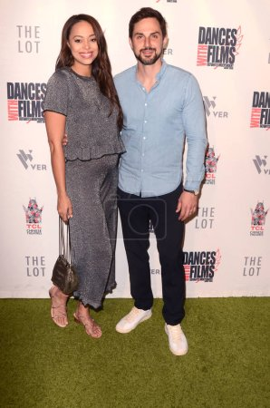 """LOS ANGELES - JUN 16:  Amber Stevens West, Andrew J.West at the """"Antiquities"""" World Premiere Screening at the TCL Chinese 6 Theaters on June 16, 2018 in Los Angeles, CA"""