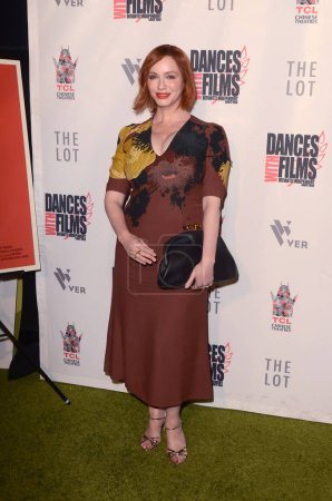 "LOS ANGELES - JUN 16:  Christina Hendricks at the ""Antiquities"" World Premiere Screening at the TCL Chinese 6 Theaters on June 16, 2018 in Los Angeles, CA"