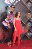 LOS ANGELES - JUN 25:  Jarell Eddie, Nekolle Eddie at the 2018 NBA Awards at the Barker Hanger on June 25, 2018 in Santa Monica, CA