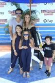 LOS ANGELES - JUN 30:  Edwin Arroyave, Teddi Mellencamp Arroyave, children at the