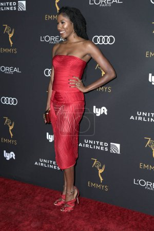 Photo for LOS ANGELES - SEP 15:  Diarra Kilpatrick at the Television Academy Honors Emmy Nominated Performers at the Wallis Annenberg Center for the Performing Arts on September 15, 2018 in Beverly Hills, CA - Royalty Free Image