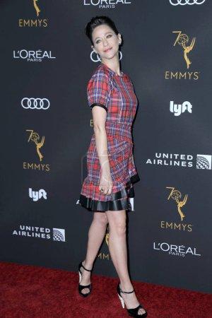Foto de Los Angeles - Sep 15: Jackie Tohn en la Academia de televisión reconocimientos Emmy nominados artistas intérpretes o ejecutantes en el Wallis Annenberg Center for the Performing Arts en 15 de septiembre de 2018 en Beverly Hills, Ca - Imagen libre de derechos