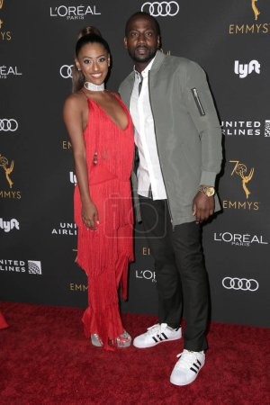 Photo for LOS ANGELES - SEP 15:  Janina Gordillo, DeStorm Power at the Television Academy Honors Emmy Nominated Performers at the Wallis Annenberg Center for the Performing Arts on September 15, 2018 in Beverly Hills, CA - Royalty Free Image