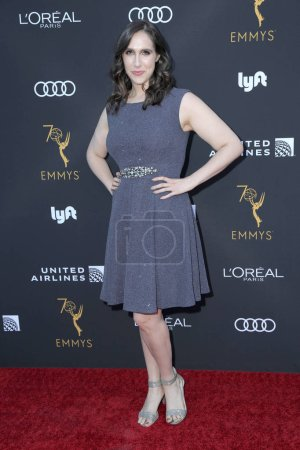 Photo for LOS ANGELES - SEP 15:  Megan Amram at the Television Academy Honors Emmy Nominated Performers at the Wallis Annenberg Center for the Performing Arts on September 15, 2018 in Beverly Hills, CA - Royalty Free Image