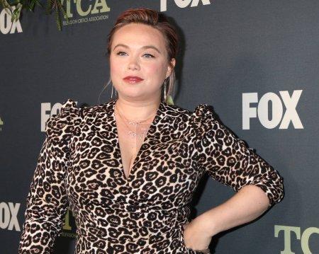Photo pour Los Angeles - 1 février: Amanda Fuller lors de la fête de Tca All-Star de Fox à la maison de figue sur 1er février 2019 à Los Angeles, Ca - image libre de droit
