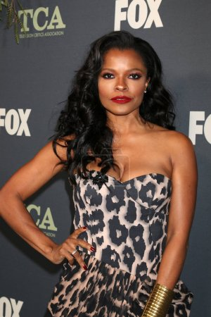 Photo pour Los Angeles - 1 février : Keesha Sharp à la fête de Tca All-Star de Fox à la maison de figue sur 1er février 2019 à Los Angeles, Ca - image libre de droit