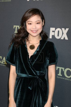 Photo pour Los Angeles - Feb 1: Krista Marie Yu à la fête de Tca All-Star de Fox à la maison de figue sur 1er février 2019 à Los Angeles, Ca - image libre de droit