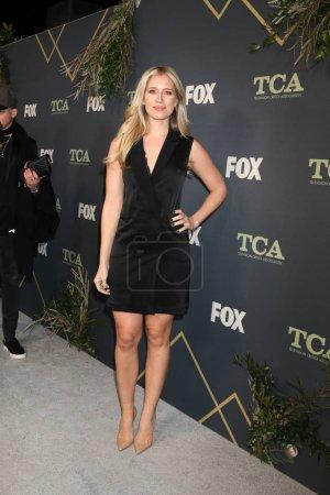 Photo pour Los Angeles - 1 février: Kristine Leahy à la fête de Tca All-Star de Fox à la maison de figue sur 1er février 2019 à Los Angeles, Ca - image libre de droit