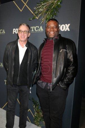 Photo pour Los Angeles - 1 février: Tim Allen, Jonathan Adams lors de la fête de Tca All-Star de Fox à la maison de figue sur 1er février 2019 à Los Angeles, Ca - image libre de droit
