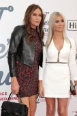 LOS ANGELES - FEB 10:  Caitlyn Jenner, Sophia Hutchins at the 2019 Steven Tyler's Grammy Viewing Party at the Raleigh Studios on February 10, 2019 in Los Angeles, CA