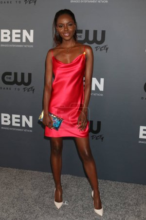 Photo pour LOS ANGELES - 4 AOÛT : Ashleigh Murray à la CW Summer TCA All-Star Party au Beverly Hilton Hotel le 4 août 2019 à Beverly Hills, CA - image libre de droit