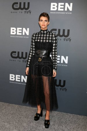 Photo pour LOS ANGELES - 4 AOÛT : Ruby Rose à la CW Summer TCA All-Star Party au Beverly Hilton Hotel le 4 août 2019 à Beverly Hills, CA - image libre de droit