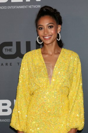 Photo pour LOS ANGELES - 4 AOÛT : Samantha Logan à la CW Summer TCA All-Star Party au Beverly Hilton Hotel le 4 août 2019 à Beverly Hills, CA - image libre de droit