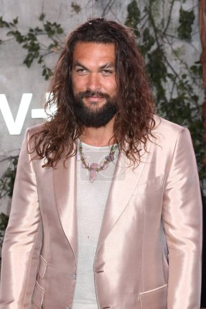 "Photo for LOS ANGELES - OCT 21:  Jason Momoa at the Apple TV+'s ""See"" Premiere Screening at the Village Theater on October 21, 2019 in Westwood, CA - Royalty Free Image"