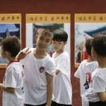 Denfeng, China - July 29, 2017: Shaolin Kungfu Tem...