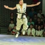 Denfeng, China - July 29, 2017: Show in Shaolin Ku...