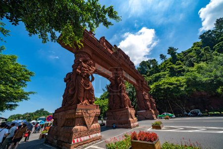 Photo for Buddhist temple in Asia - Royalty Free Image