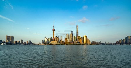 Photo for Shanghai city view in China - Royalty Free Image