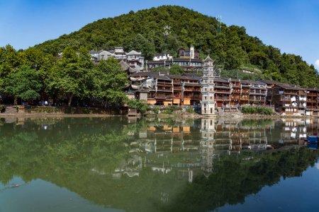 Photo pour Vieille ville traditionnelle en Chine - image libre de droit