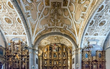 Photo for Interior of old christian church in Mexico - Royalty Free Image