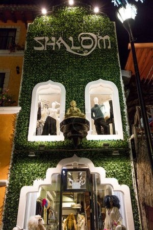 Photo for Shalom market in Mexican city - Royalty Free Image