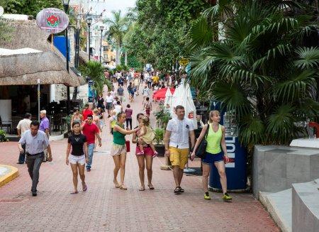 Photo pour Belle ville touristique au Mexique - image libre de droit
