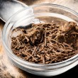 Dried rhizomes and roots of valerian medicinal.Med...