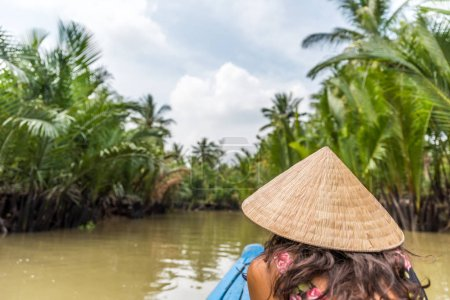 View of Mekong Delta in
