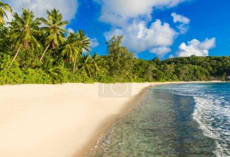 Anse Soleil - Paradise beach on tropical island Mahe