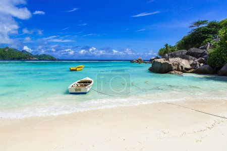Petite Anse - beautiful beach on island Mahe, Seychelles