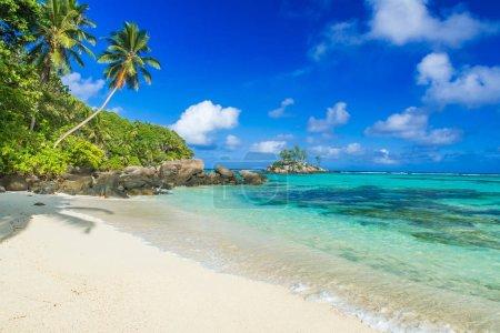 Beautiful beach - Anse aux Pins - Mahe, Seychelles...