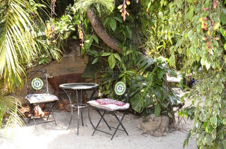 Garden Restaurant at backyard