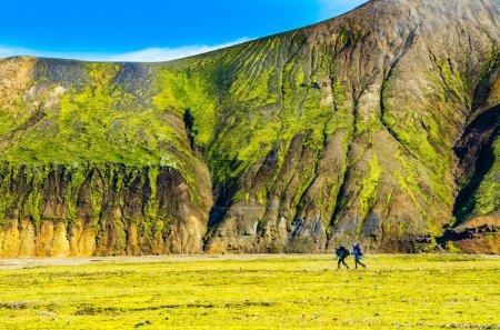 landmannalaugar - atemberaubende Landschaft in Island