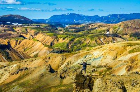 Photo pour Landmannalaugar - Paysage étonnant en Islande - image libre de droit