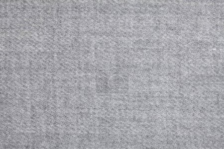 Top view of soft woolen textile texture