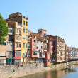 Different postcards of the city of Girona in the p...