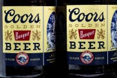 Coors Beer Bottles and Trademark Logo