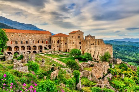 The Despots Palace at Mystras, UNESCO world herita...