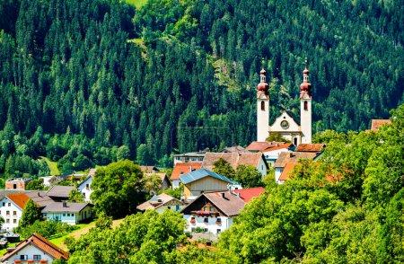 Kirche St. Barbara in Fliess, Österreich