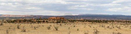 panorama at Kodachrome national park Utah 67 monolithic stone spires, called sedimentary pipes, accentuate multi-hued sandstone layers that reveal 180 million years of geologic time.