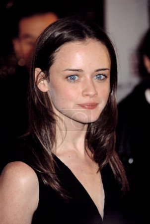 Alexis Bledel at premiere of THE IMPORTANCE OF BEI...