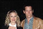 Kyra Sedgwick and Kevin Bacon at NATIONAL BOARD OF REVIEW AWARDS, NY 1/7/2002, by CJ Contino
