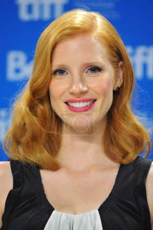 Jessica Chastain at the press conference for CORIO...