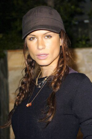 Photo for Rhona Mitra at arrivals for Global Green USA Rock the Earth party, Day After Club, Los Angeles, CA, Thursday, February 24, 2005. Photo by: Michael Germana/Everett Collection - Royalty Free Image